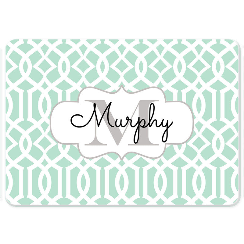 Personalized Glass Cutting Board-Lattice 2