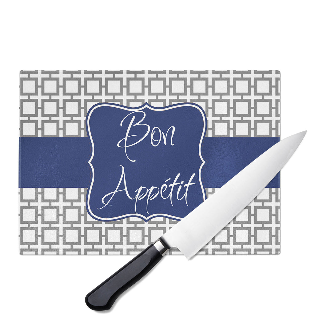 Personalized Glass Cutting Board-Squares