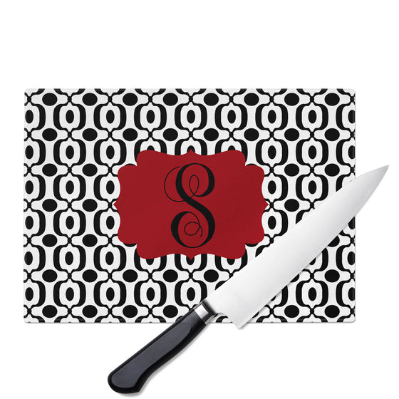 Personalized Glass Cutting Board-Urban