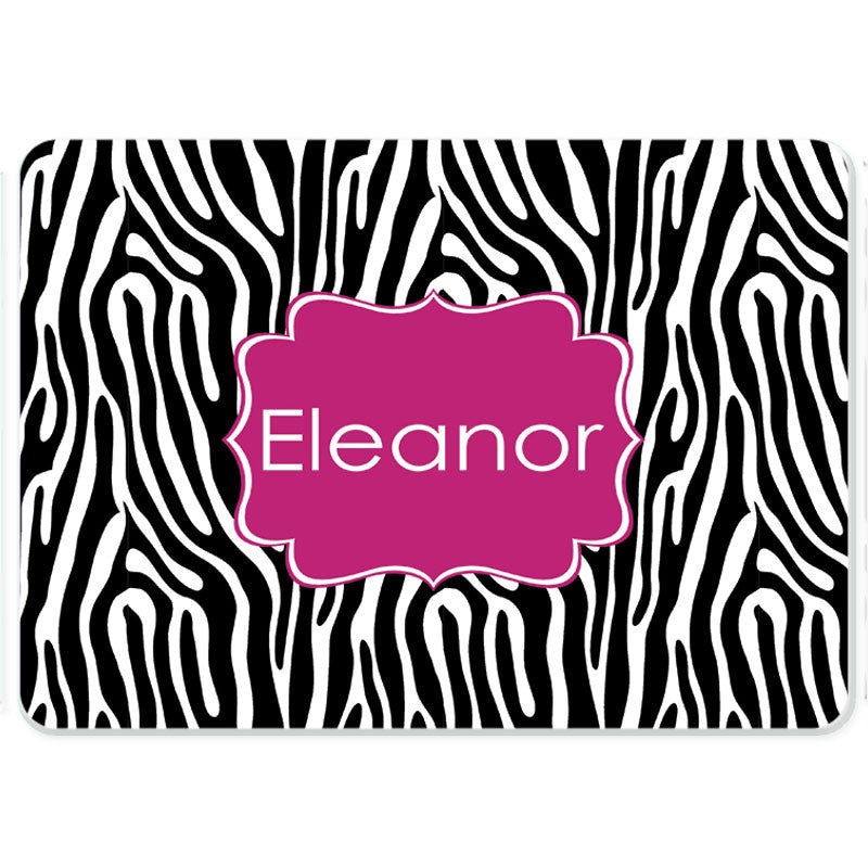 Personalized Glass Cutting Board-Zebra 2