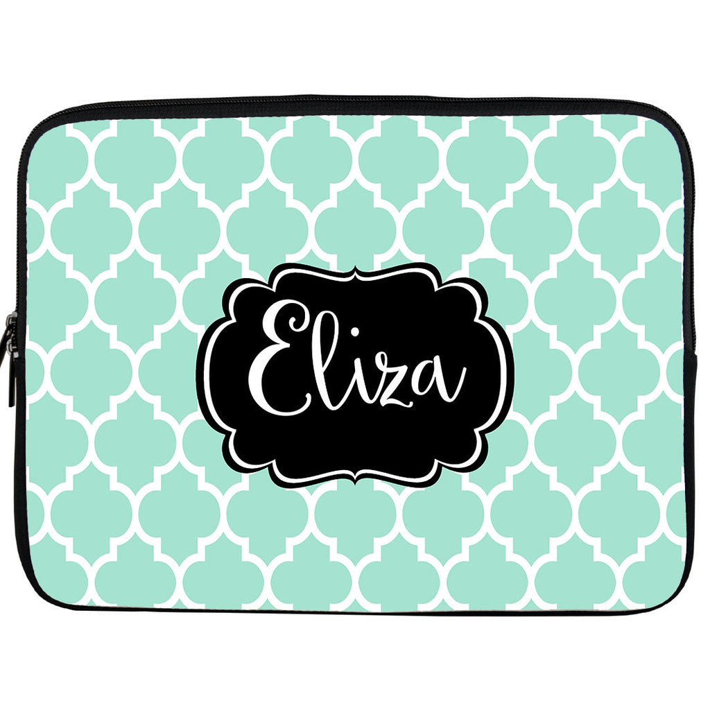 Monogram iPad or Kindle Sleeve-Moroccan