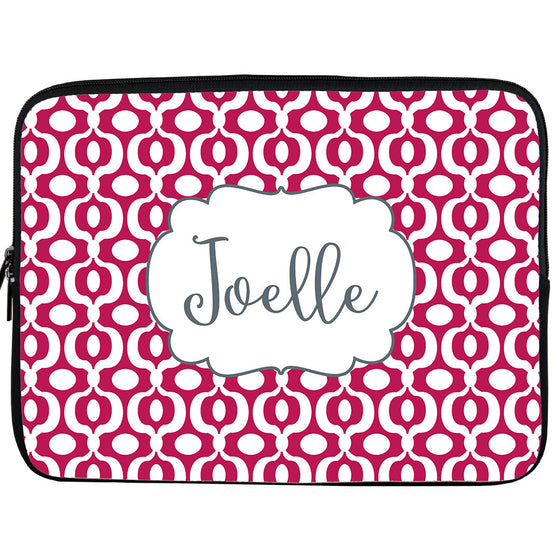 Monogram iPad or Kindle Sleeve-Chain