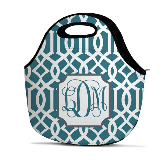 Monogram Lunch Tote - Lattice