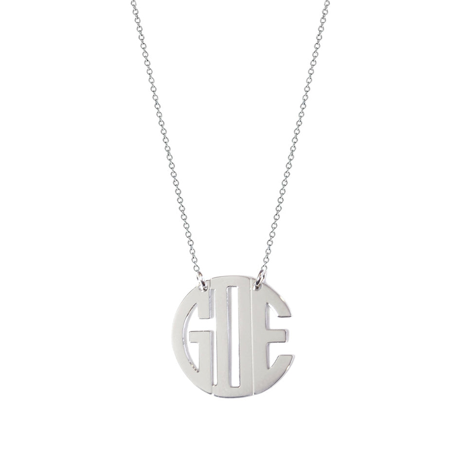 block monogram necklace 2