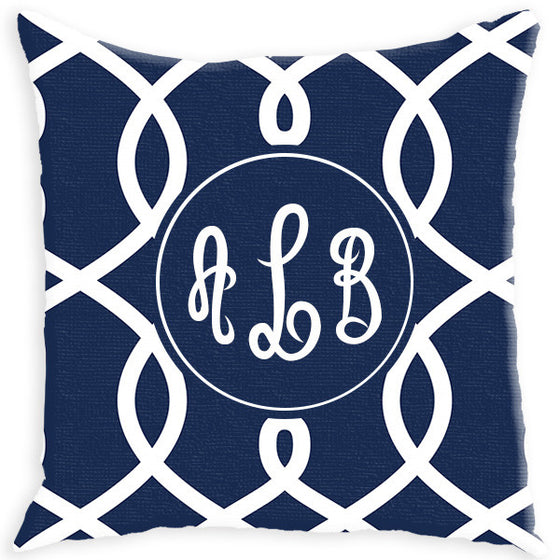 Monogram Pillow - Loops