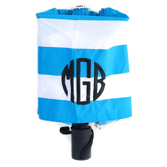 Monogram Umbrella - Stripes