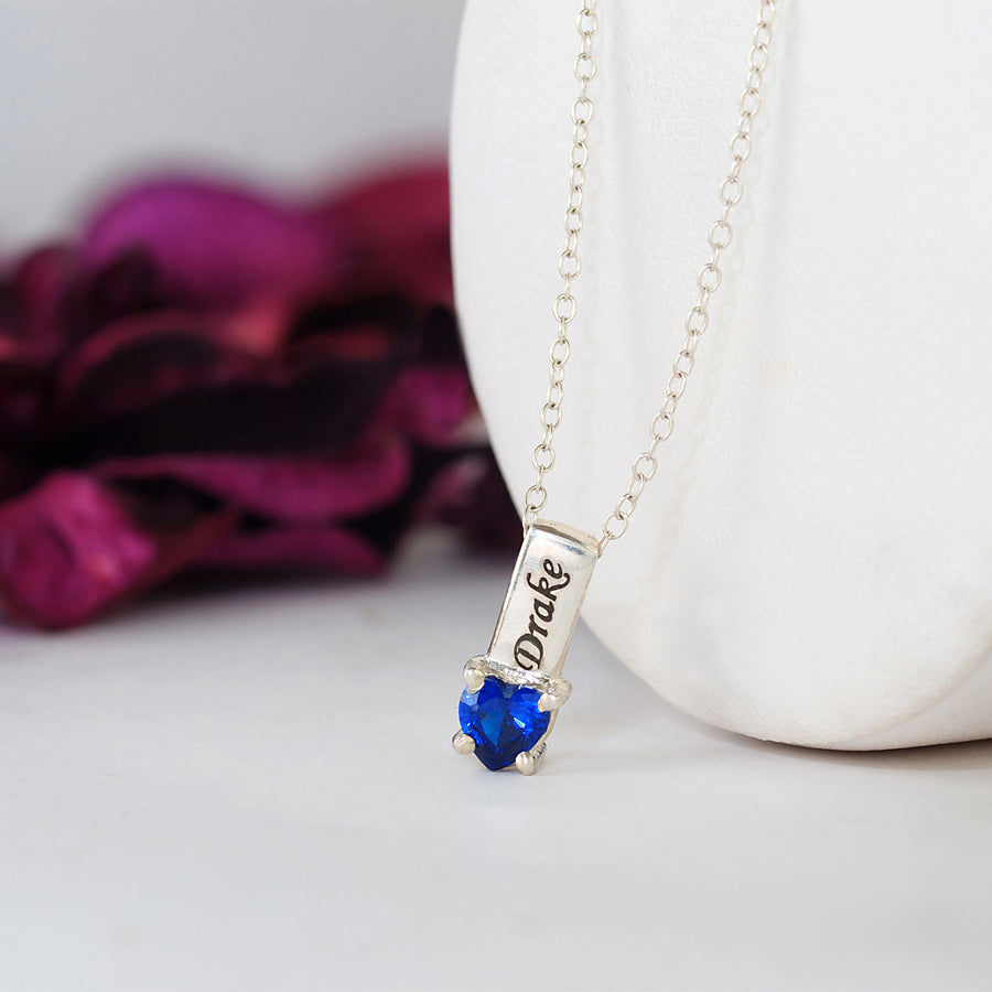 Personalized Mothers Necklace - Names and Birthstones 3