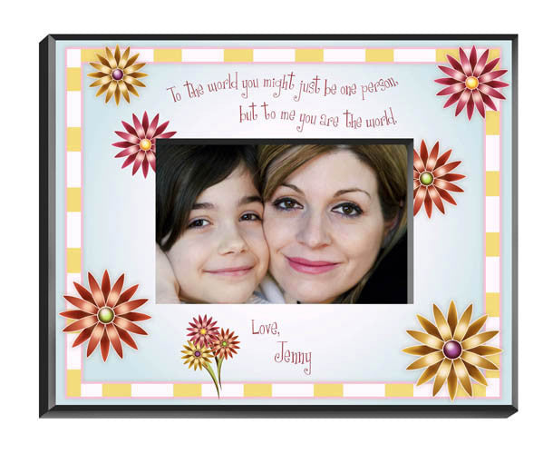 Personalized Mothers Poem Picture Frame Alternate 2