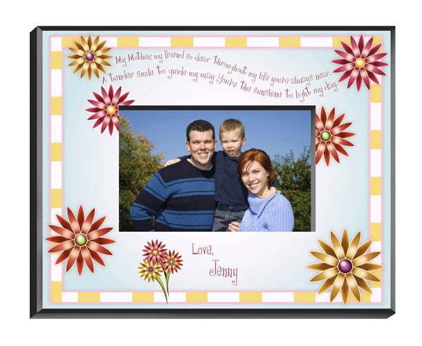 Personalized Mothers Poem Picture Frame Alternate 3