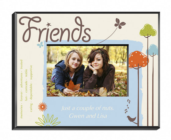 Personalized Natures Song Friends Picture Frame