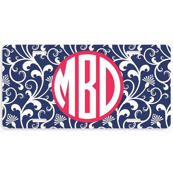 Personalized Car Tag License Plate - Parisian