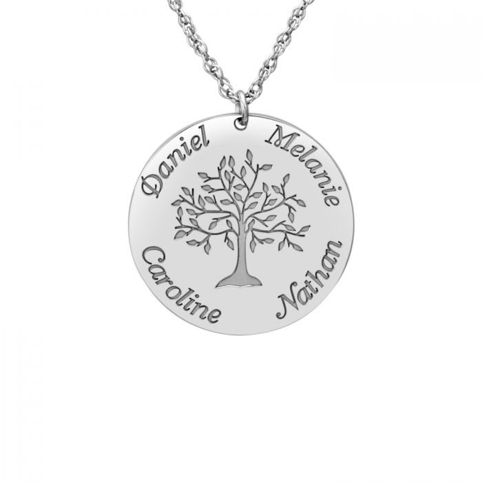 Personalized Tree of Life Mothers Necklace 4