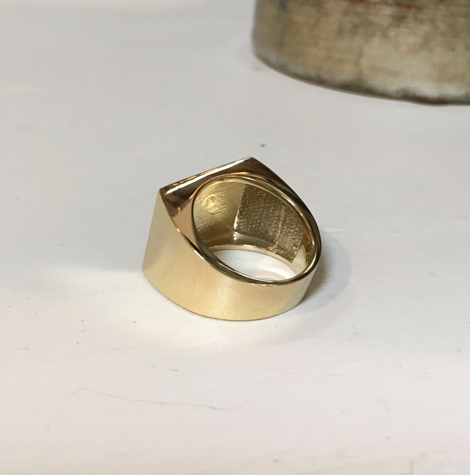 Monogram Boyfriend Signet Ring