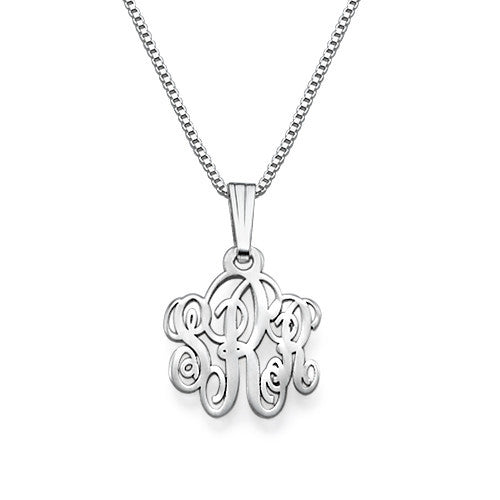 Extra Small Monogram Necklace 3