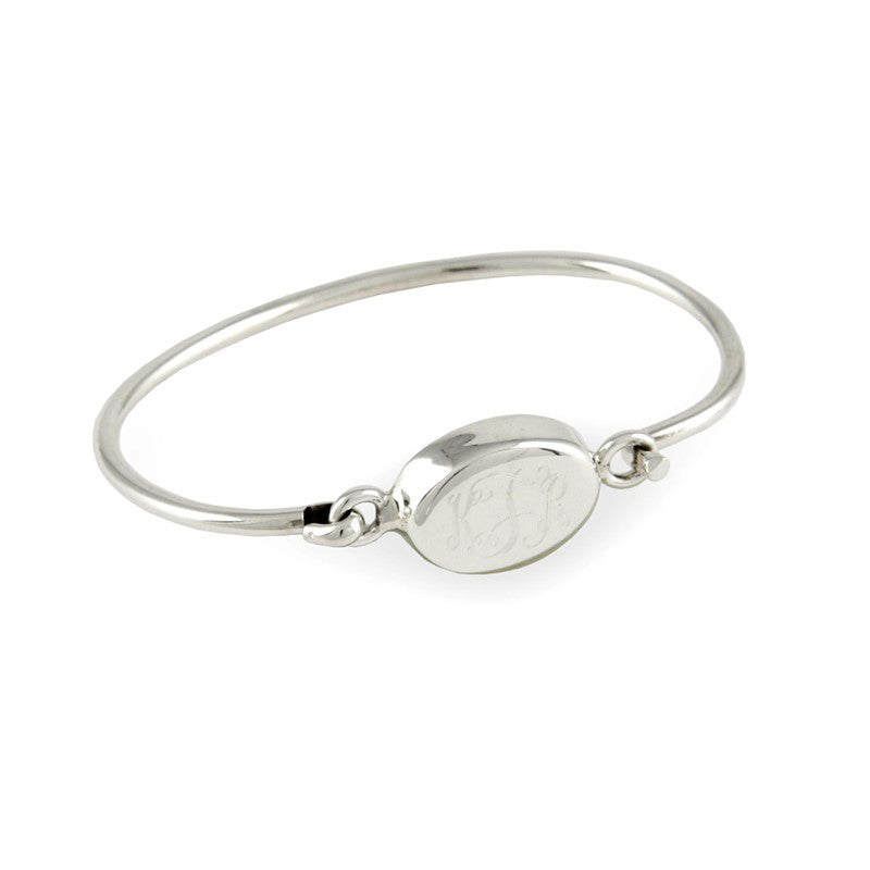on bangles head oval or inspired wanelo bangle stainless screw designer steel bracelet shop