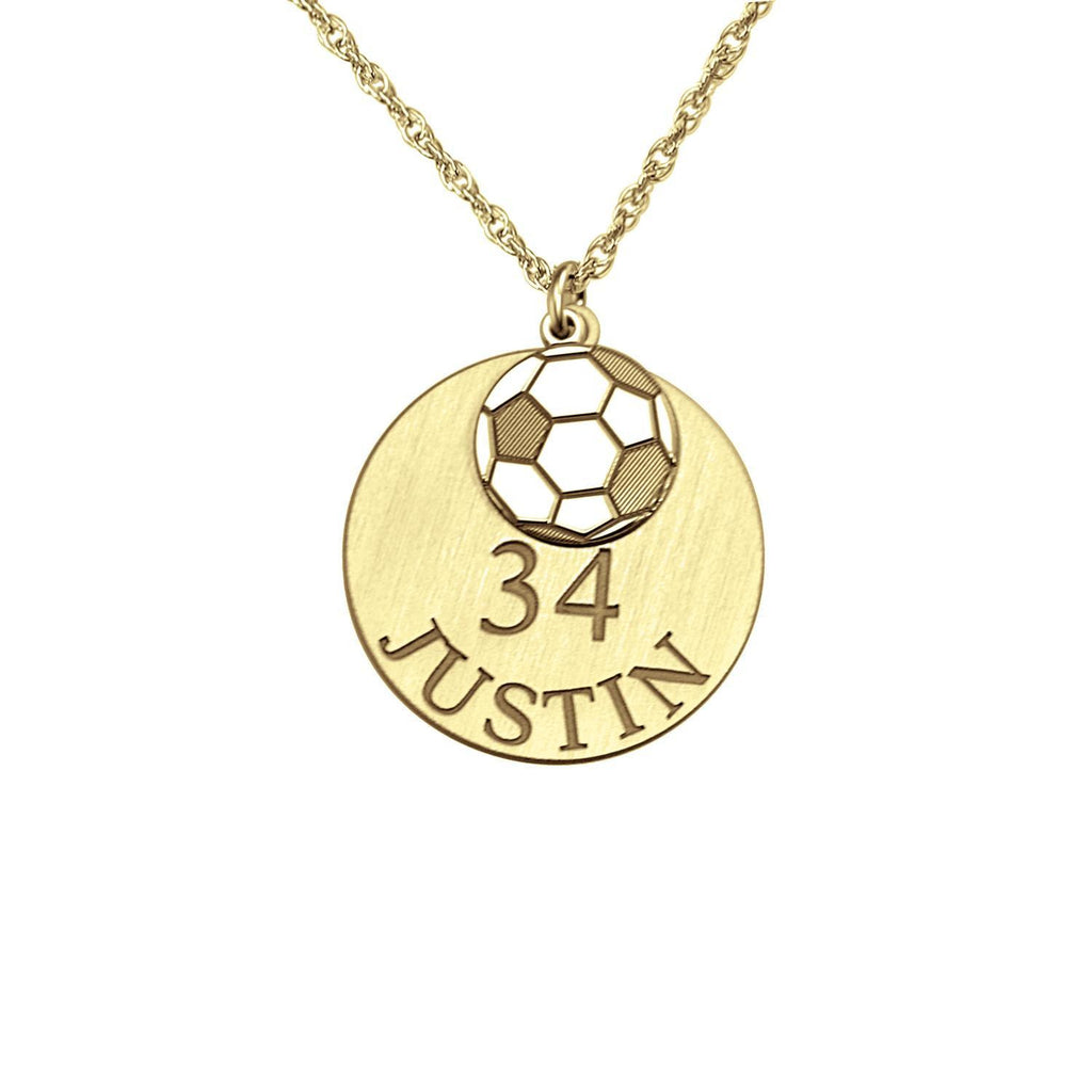 Personalized Soccer Necklace
