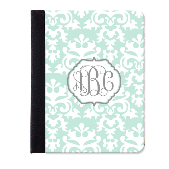 Monogram Folio iPad Case - Damask