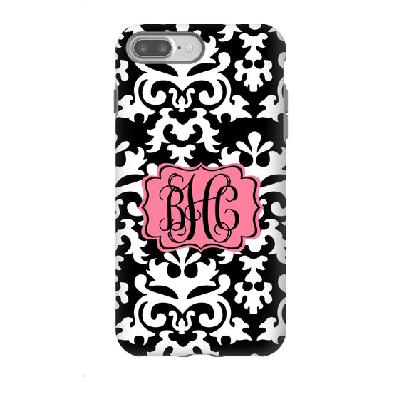 Monogram Phone Case - Damask