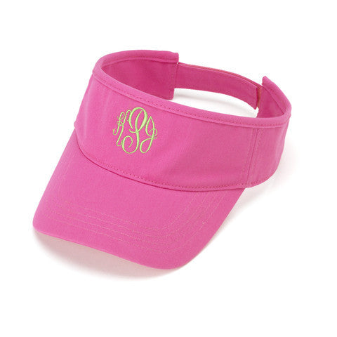 Personalized Visor Hot Pink