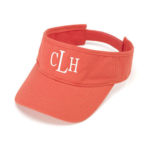 Personalized Visor Coral