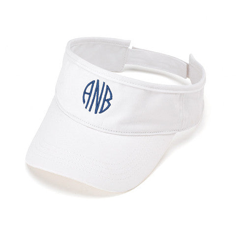 Personalized Visor White