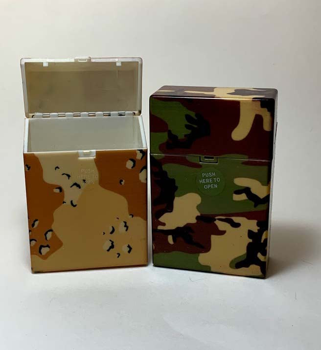 Camouflage Cigarette Case Kings - SimplyEpicSmokes