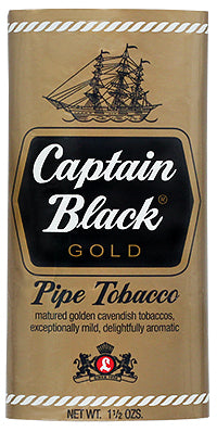Captain Black Pipe Tobacco Gold - SimplyEpicSmokes