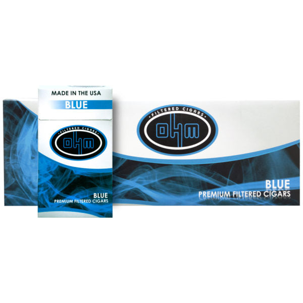 OHM Blue Filtered cigars - SimplyEpicSmokes