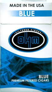 OHM Blue Filtered cigars pack - SimplyEpicSmokes