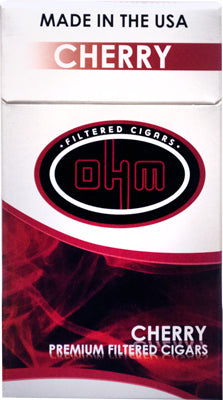 OHM Cherry Filtered cigars pack - SimplyEpicSmokes
