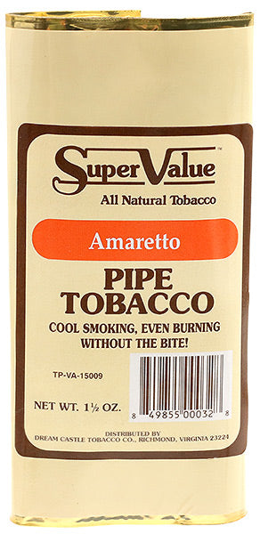 Super Value Pipe Tobacco Amaretto - SimplyEpicSmokes