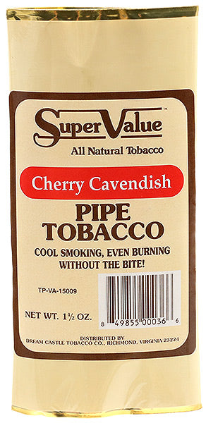 Super Value Pipe Tobacco Cherry Cavendish - SimplyEpicSmokes