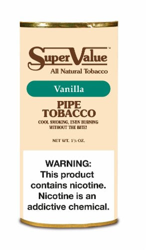 Super Value Pipe Tobacco Vanilla - SimplyEpicSmokes