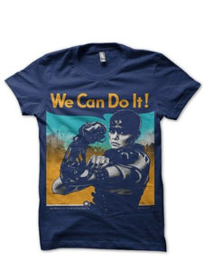 Imperator Furiosa Can Do T Shirt_Navy Blue