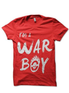 War Boy T Shirt_Red