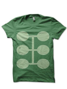 Deadpool 8 Green Tee