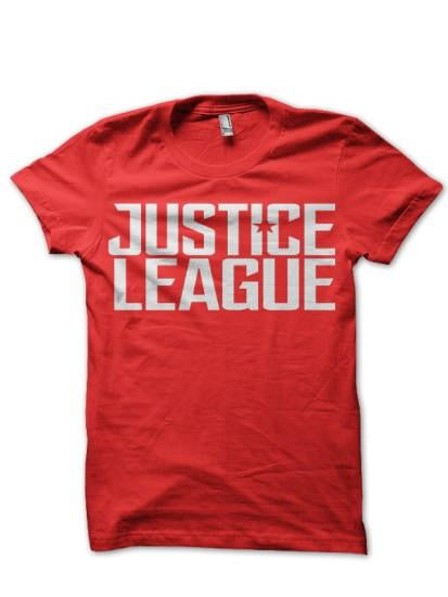 Justice League7Red Tee