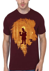 Little Lion Maroon Tshirt