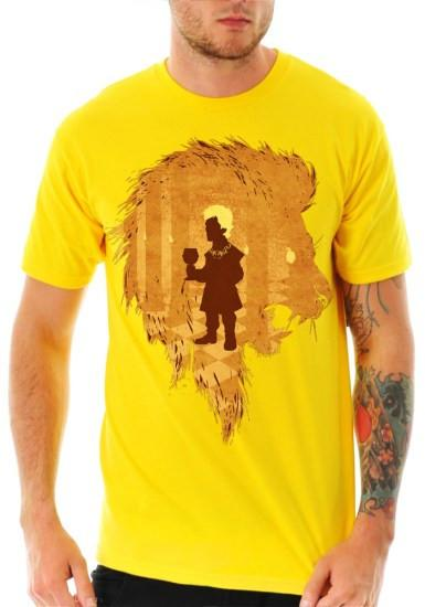Little Lion Yellow Tshirt