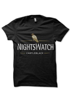 Nights Watch Black T Shirt