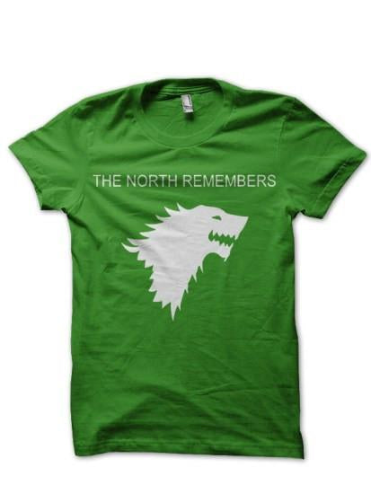 North Remember Green T Shirt