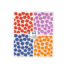 Load image into Gallery viewer, Swedish Dishcloths: Poppies - Ninth and Pine