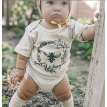 Load image into Gallery viewer, Sweet As A Honeybee Baby Cotton Bodysuit