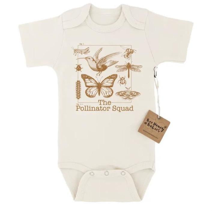 The Pollinator Squad Baby Cotton Bodysuit