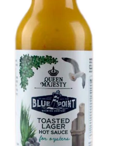 Queen Majety Blue Point Toasted Lager Hot Sauce