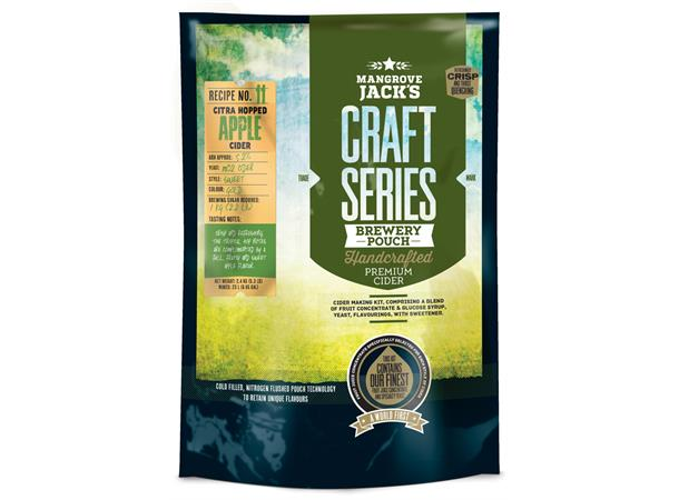 DRY HOPPED APPLE CIDER POUCH 2,4 KG DRY HOPPED WITH CITRA