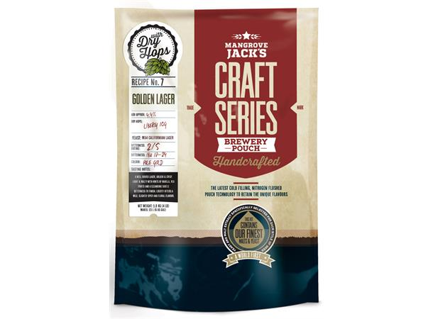 GOLDEN LAGER WITH DRY HOPS POUCH CRAFT SERIES, 1,8 KG