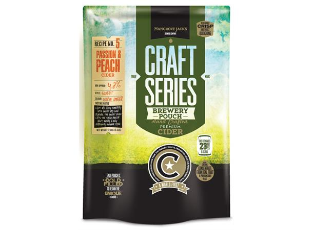 PEACH & PASSION CIDER POUCH CRAFT SERIES, 2,4 KG