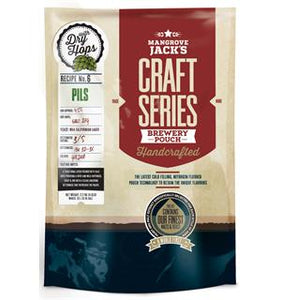 PILS POUCH CRAFT SERIES 2,2KG. DRY HOPPED WITH SAAZ