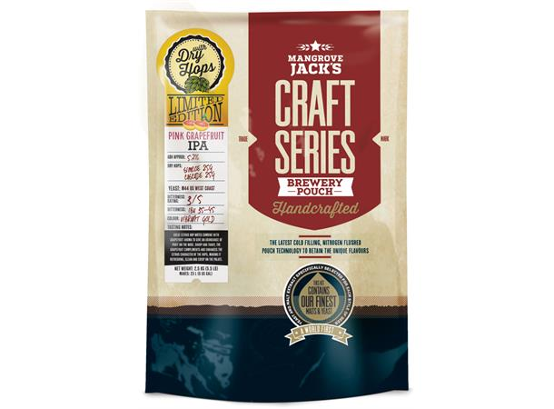 PINK GRAPEFRUIT IPA WITH DRY HOPS POUCH CRAFT SERIES, 2,5 KG